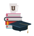 university education design vector image