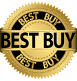 Best buy golden label vector image