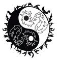 dragons pattern vector image