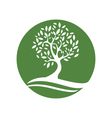 Eco Green Logo vector image