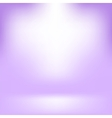 Empty Studio Light Purple Abstract Background vector image
