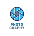 Logo for the photographer vector image