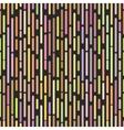 Hipster broken lines seamless pattern stylish pop vector image