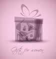 Gifts for women vector image