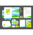 corporate identity creative color template design vector image