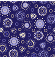 seamless pattern with magical stars vector image