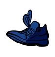 A sneaker vector image