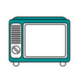retro tv design vector image