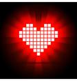 Heart energy health concept vector image vector image