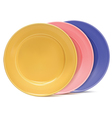 Clean plates vector image