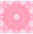 Decorative pattern pink of circular vector image