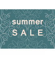 Summer Sale commercial banner vector image