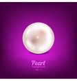 Pearl vector image