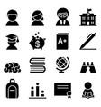 scholarship icon vector image