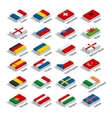 European football championship 2016 in France vector image