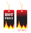 hot sale tags vector image