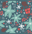 floral seamless pattern for backgrounds vector image