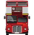 Double decker tours vector image