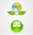 set of environment logo icon design vector image