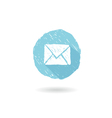 Flat icon mail vector image