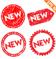 Stamp stitcker product tag collection - - E vector image