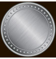 Silver Certificate Badges vector image vector image