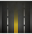 Road background vector image