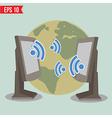 Wireless communication - - EPS10 vector image