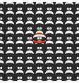 Seamless cartoon pattern vector image