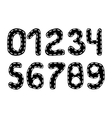 Handwritten Numbers vector image