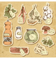 Spices and herbs vector image vector image