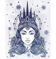 Fantasy Snow Queen vector image