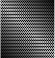 perforated metallic background vector image