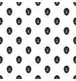 goalkeeper mask pattern vector image