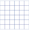 Navy Blue Grid White Background vector image