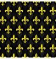 fleur-de-lis seamless pattern vector image