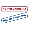 North Carolina Rubber Stamps vector image