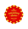 Circus amazing show vector image