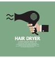 Hair Dryer vector image