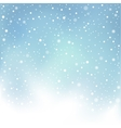 winter day snow background vector image