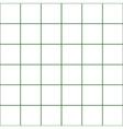 Dark Green Grid White Background vector image