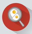 Classic English breakfast vector image