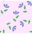 Gentle floral seamless pattern vector image