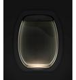 Porthole black vector image
