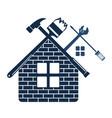 repair and maintenance of home symbol vector image