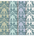 Vintage Royal Classic pattern set vector image