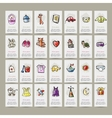 Set of baby icons for your design vector image