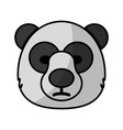 bear icon image vector image