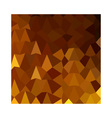Burnt Umber Brown Abstract Low Polygon Background vector image vector image