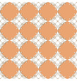 seamless vintage lacy pattern vector image vector image